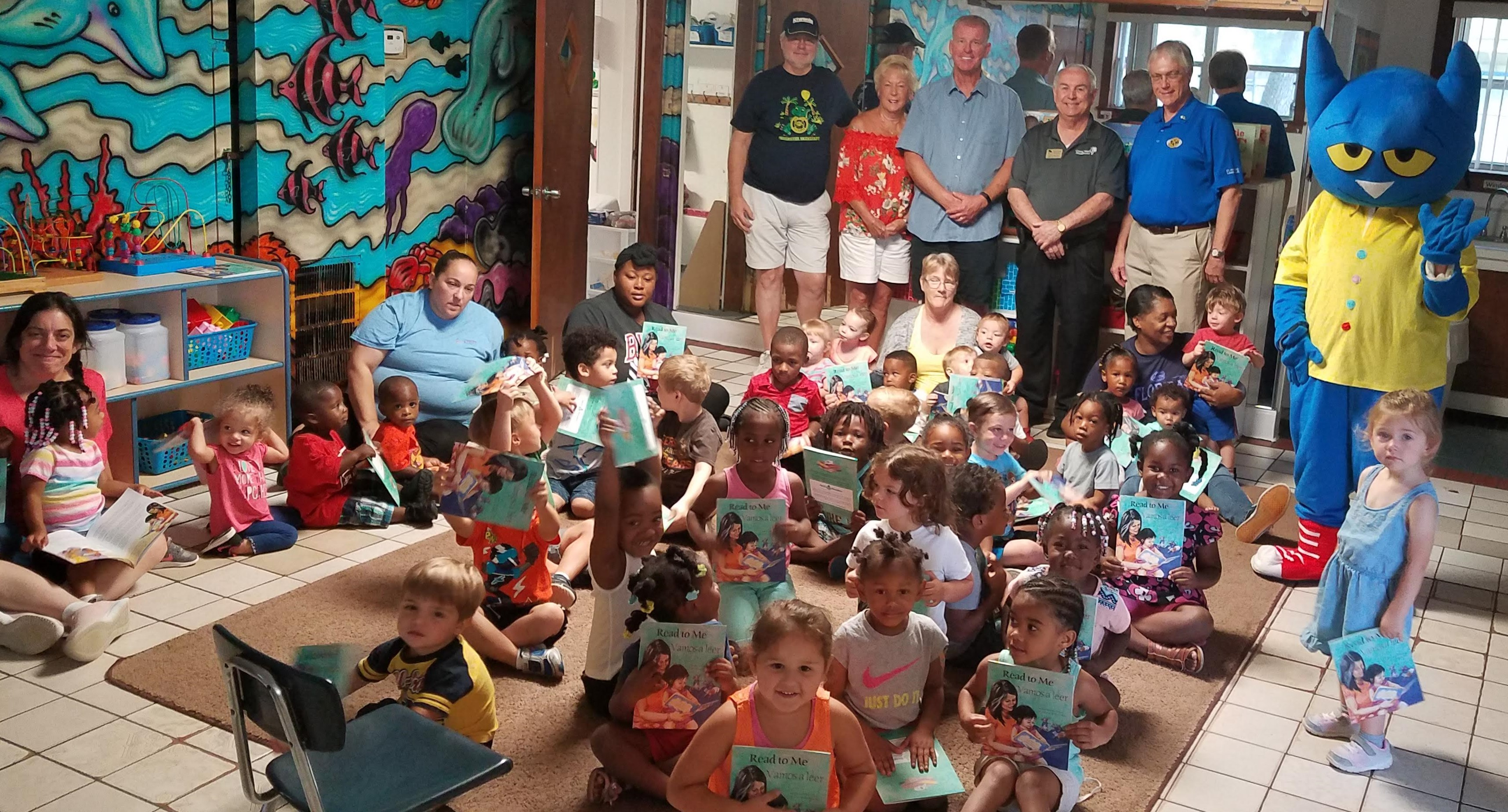 Free Books for Children at St  Augustine Day Care :: Early Learning